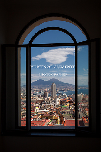 Finestra sulla città – Napoli – Scorcio – Window on the town – Panorama – Spectacular view – Photo.