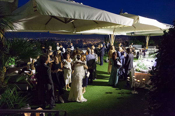MATRIMONIO: BUFFET IN TERRAZZA – PANORAMA – PHOTO.
